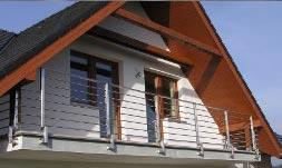 zábradlí terasové